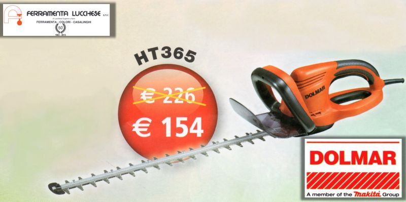 tagliasiepi elettrici dolmar ht365 550w sacile
