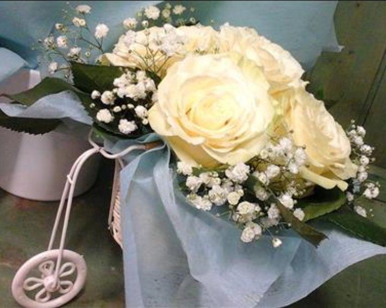 Composizioni floreali per battesimi - nascite - comunioni - Siena - Jack di Fiori