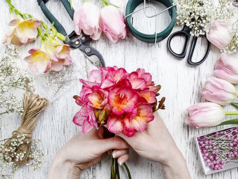 omaggi floreali personalizzati