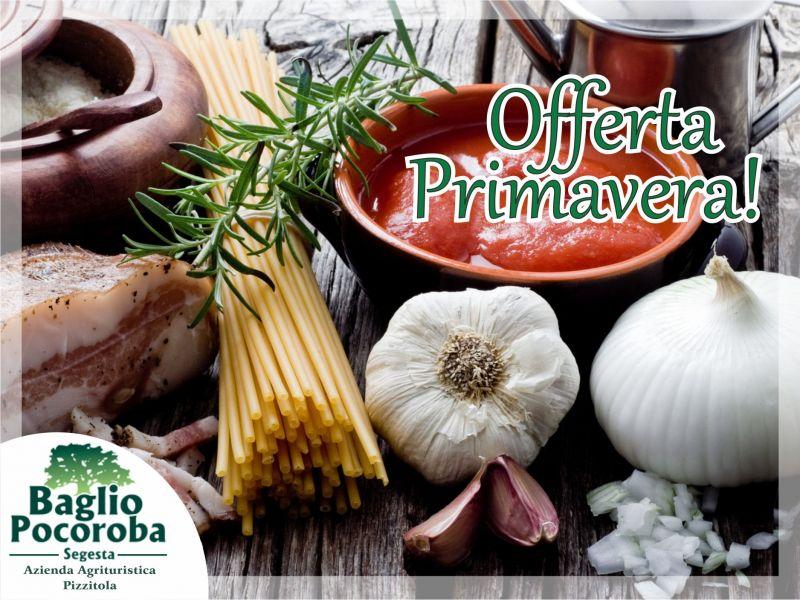 Offerta pranzo - promozione cena - Baglio Pocoroba Segesta