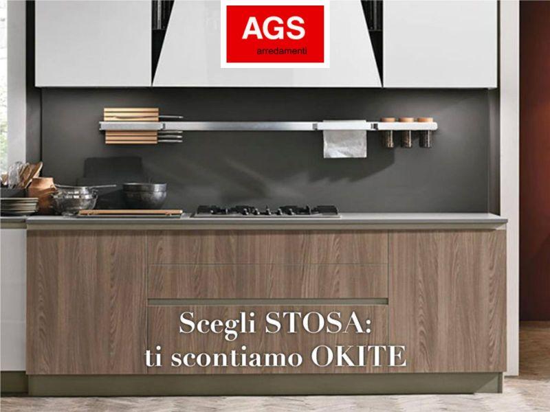 Offerta cucine stosa - Occasione okite - Ags Arredamenti Trapani