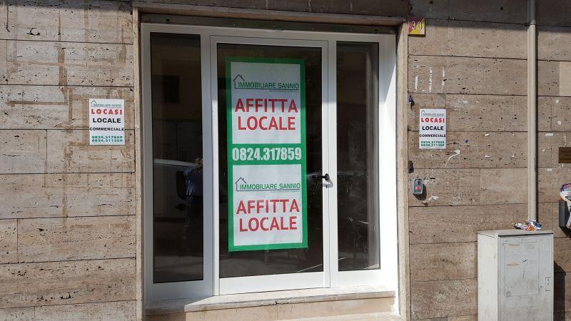 Immobiliare Sannio propone in affitto locale commerciale zona Mellusi Benevento
