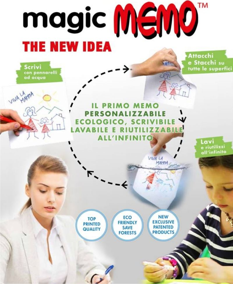 Novità - Offerta - Magic Memo - Colorgis - Siena