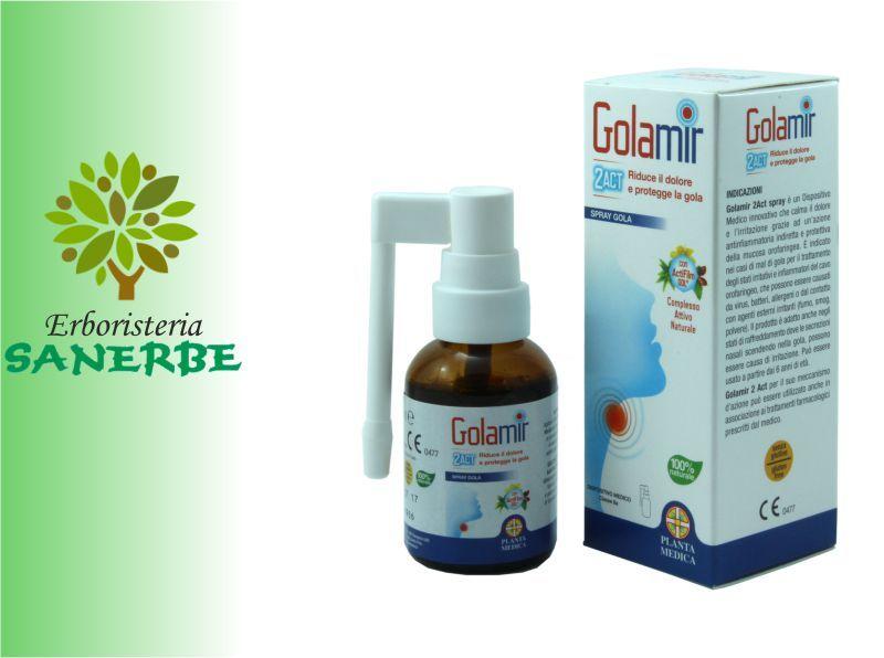 occasione golamir spray - offerta prodotti erboristici - Sanerbe