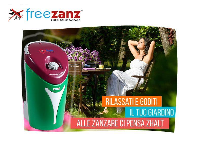 Offerta Antizanzare da Esterno - Occasione Sistemi Antizanzare Freezanz - De.l.co. Ratti