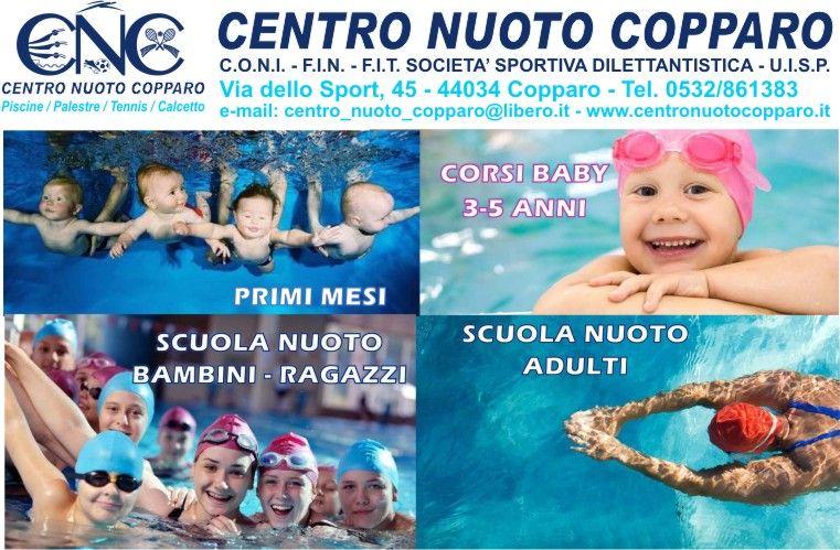 Scegli il corso di nuoto che fa per TE! Vieni al Centro Nuoto Copparo.