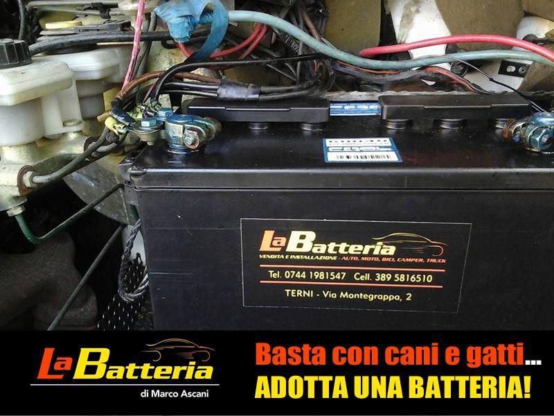 offerta occasione promozione batteria auto terni