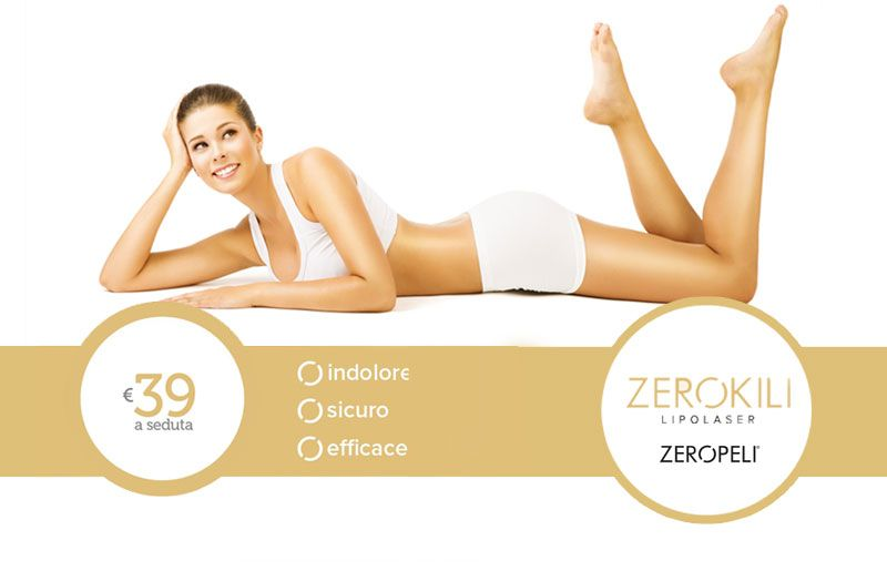 offerta zerokili trattamento anticellulite - trattamento riduzione grasso localizzato