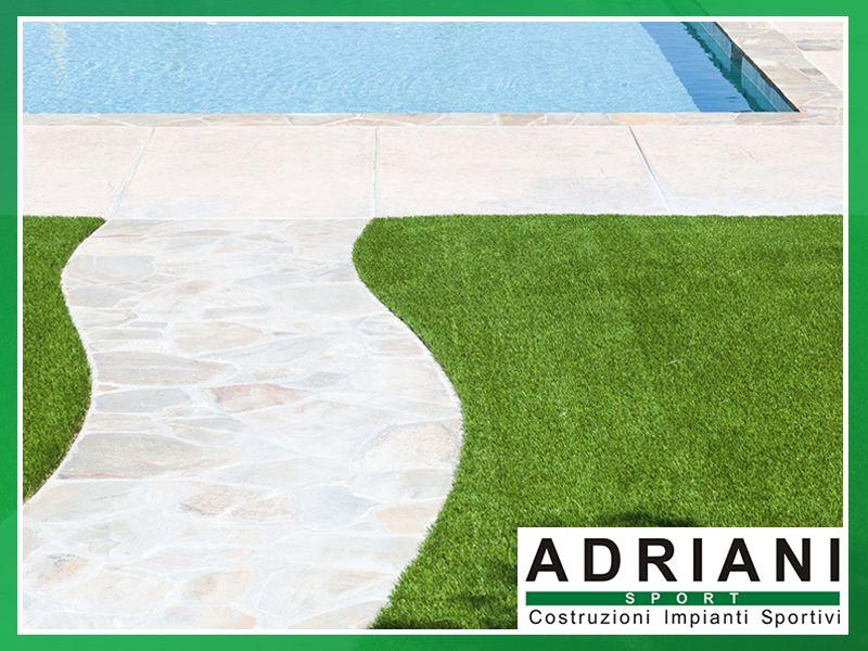 Offerta Erba Sintetica per Giardini - Promozione Giardino in Erba Sintetica - Adriani Sport