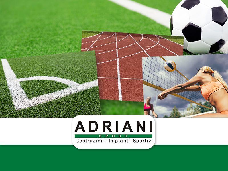 Offerta Costruzione Impianti Sportivi - Promozione Ristrutturazione Impianti Sportivi - Adriani