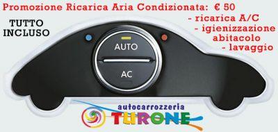 promozione ricarica aria condizionata