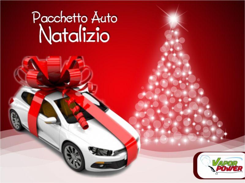 pacchetto auto natalizio per la tua auto da vapor power