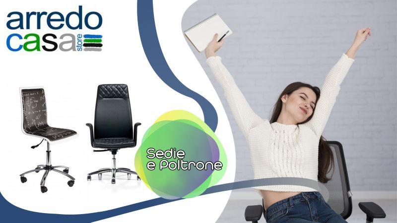 Offerta vendita sedie e poltrone stile moderno - Occasione distribuzione sedie stile chic