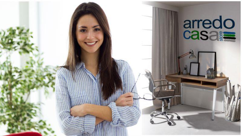 Offerta vendita e distribuzione scrivanie per ufficio on line stile moderno - Arredocasastore