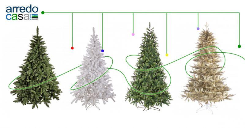 Offerta vendita alberi di natale artificiali - Promozione distribuzione albero di natale casa