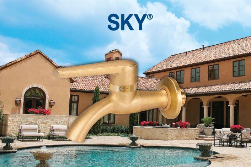sky il nuovo rubinetto per esterni