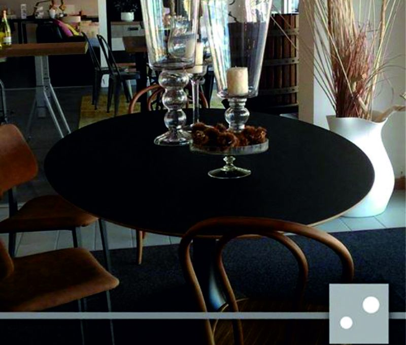 tavolo in resina fenix il particolare arredamenti fano