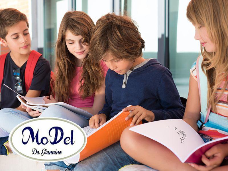 Offerta Articoli per Scuola - Promozione Astucci Quaderni Diari - MoDel Da Giannino