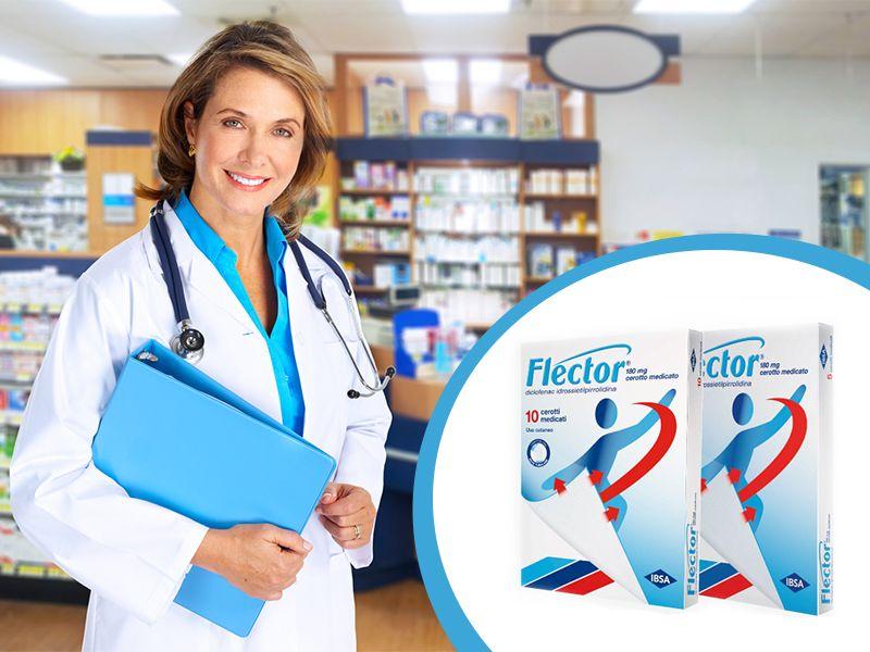 Offerta Flector Cerotti - Occasione Flector Cerotti Medicati - Farmacia Pifano