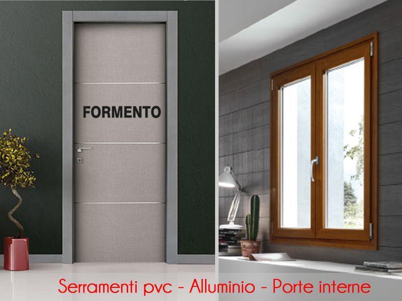 Offerta vendita e distribuzione porte e finestre in pvc alluminio e legno a Torino - Formento