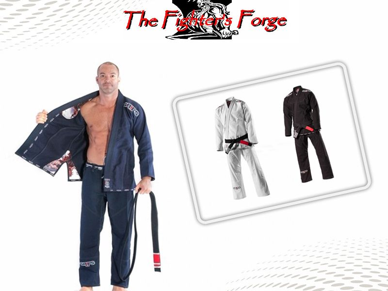 Offerta kimoni Bjj - Promozione kimoni Gi Secret Weapon -  The Fighter's Forge