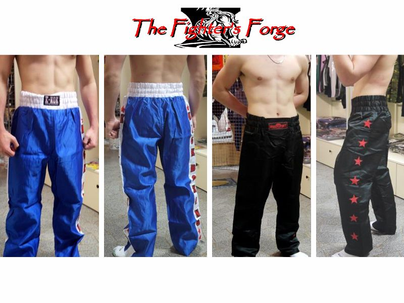 Offerta Pantaloni kick boxing - Promozione Pantaloni kick boxing - The Fighter's Forge