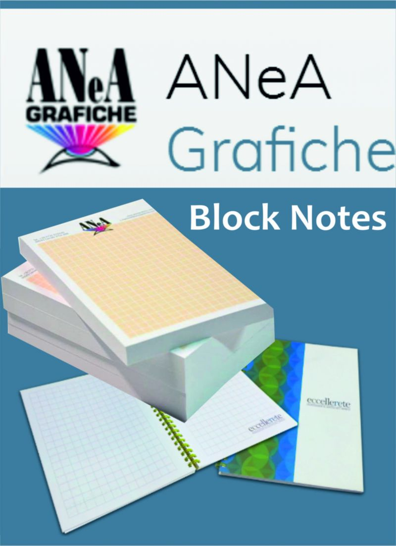 ANeA Modulistica Block Notes Ancona