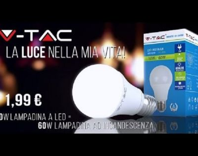 led lamp v tac 10watt a 1 99 e27