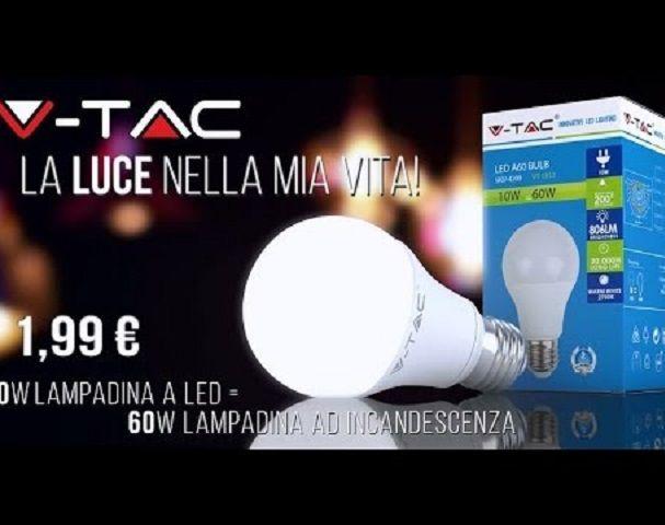 Led Lamp V-TAC 10Watt a 1,99? E27