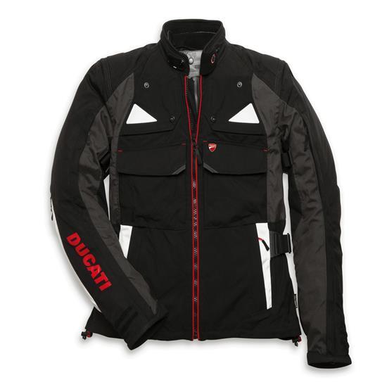 giacca ducati in tessuto modello strada