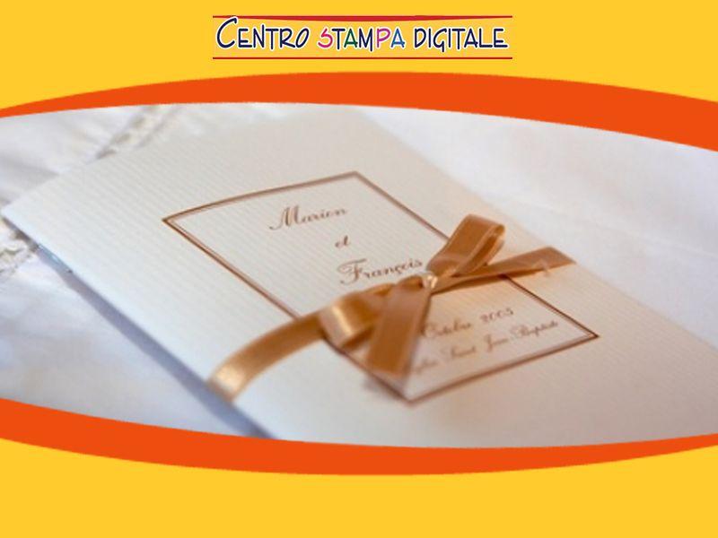 Promozione  Partecipazione di nozze - Offerta partecipazioni matrimoni - Centro Stampa Digitale