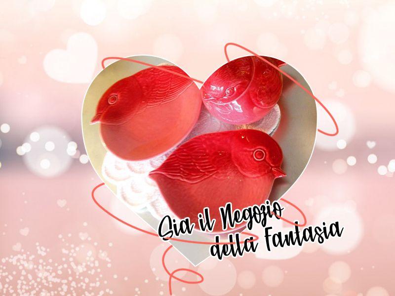 Offerta vendita piattini realizzati in ceramica a Treviso - Il Negozio Della Fantasia