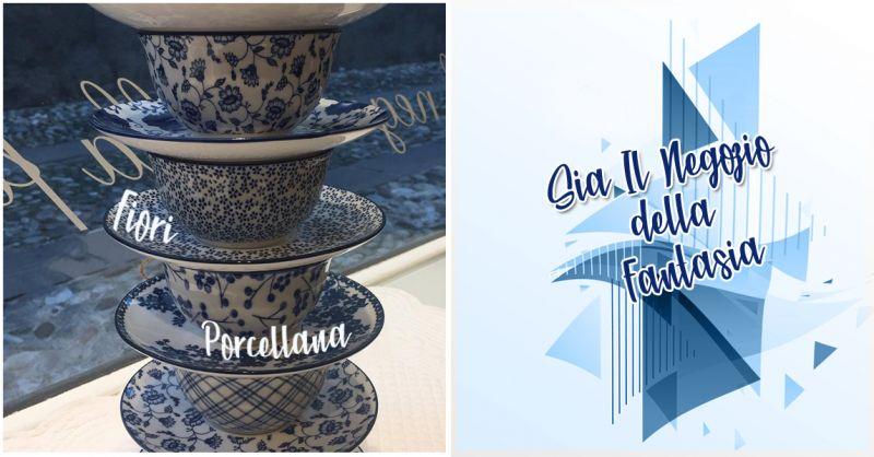Offerta set da tè in porcellana per la casa Castelfranco Veneto - Servizio in porcellana