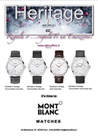 montblanc heritage watches collection