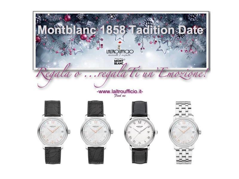 offerta occasione promozione montblanc orologi terni