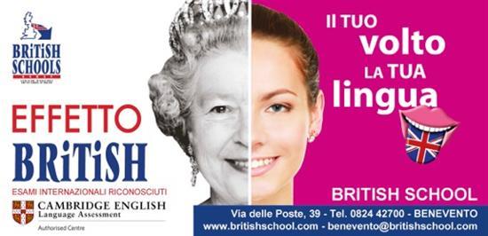 alla british school di benevento corsi di gruppo ed individuali della linea british tourist