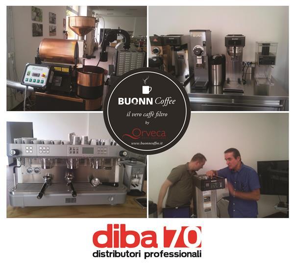 caffe filtro corso di formazione per diba 70 a milano con bunn europa e orveca