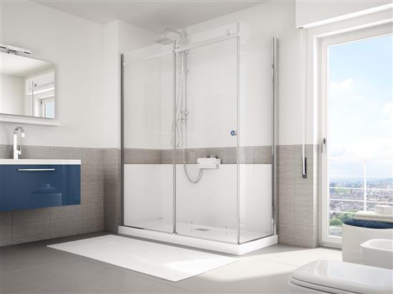 Trasforma la tua vasca in doccia in 8 ore