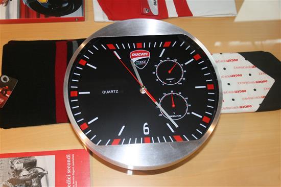 orologio da muro ducati corse