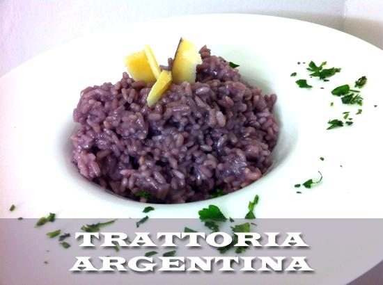 trattoria argentina prova il risotto al malbec argentino scopri