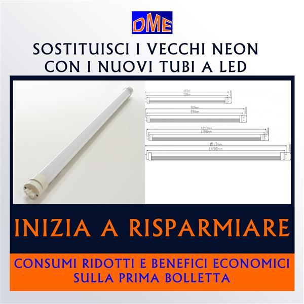 nuovi tubi a led