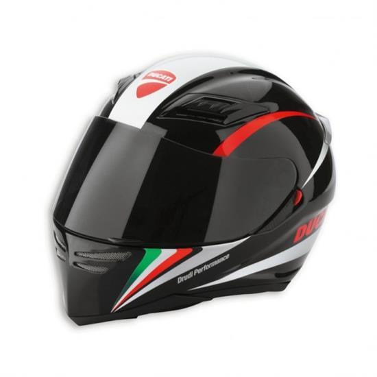 casco ducati agv peak tricolore