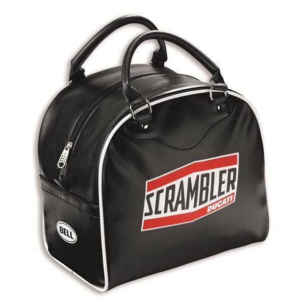 borsa portacasco short track bag scrambler ducati by bell