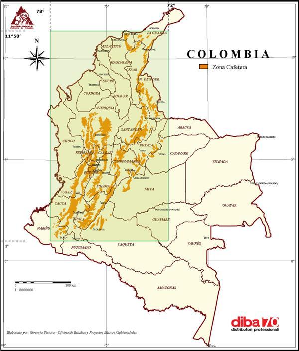 caffe brusco ribasso per il raccolto colombiano diba 70 distributori professionali rassegna stampa