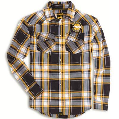 camicia checkered scrambler ducati