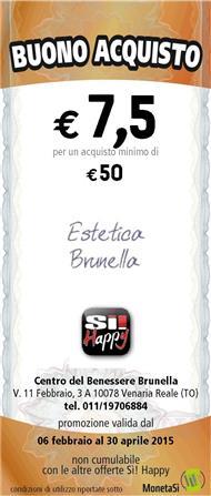 Speciale Buono Acquisto al Centro del Benessere Brunella - Scopri
