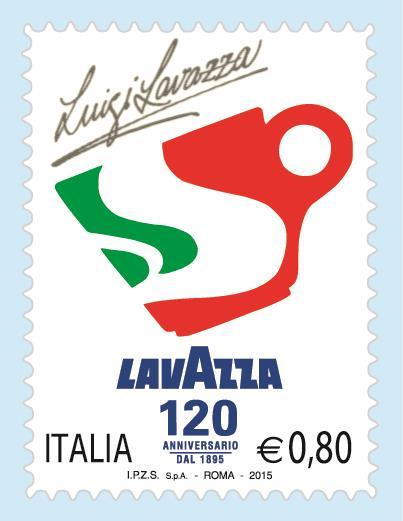 lavazza festeggia 120 anni con un francobollo diba 70 distributori professionali rassegna stampa
