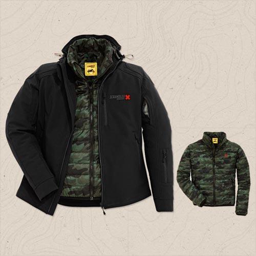 giacca outdoor in tessuto scrambler ducati by spidi