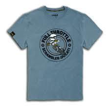 t shirt rumble scrambler ducati
