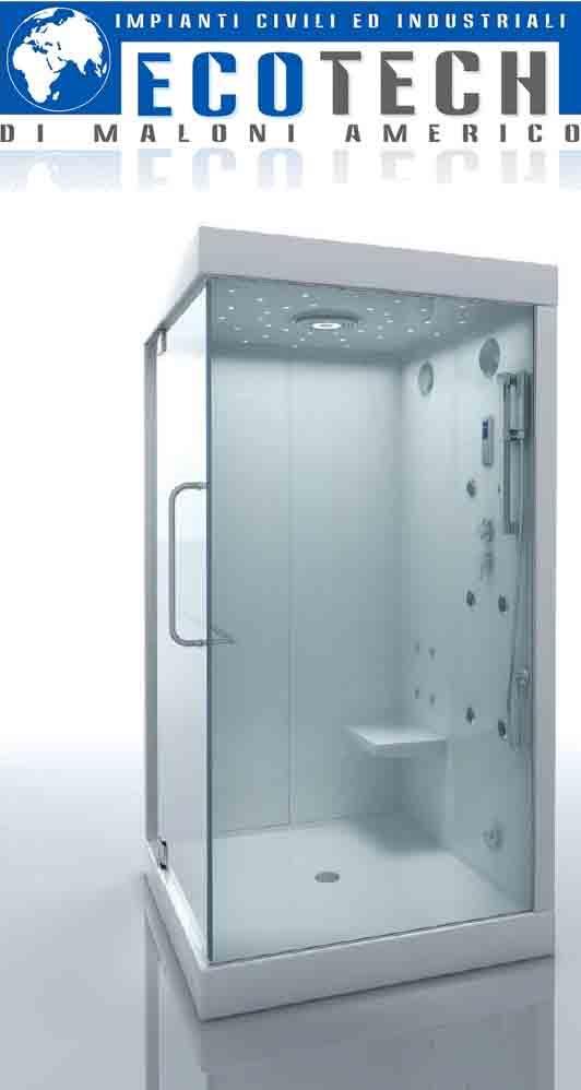 Sostituzione vasca da bagno con cabina doccia idromassaggio